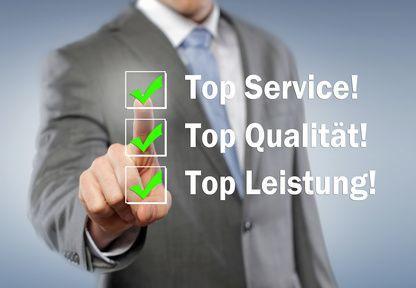 Service, Qualität, Leistung